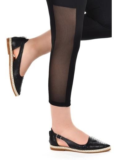 Ayakland Ayakland 177-06 Günlük Anatomik Bayan Babet Ayakkabı Siyah